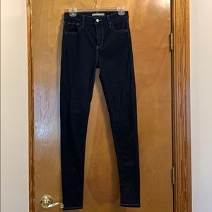 Levi's 720 High Rise Super Skinny Jeans - 26 LONG